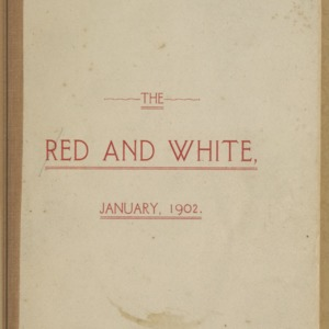 Red and White, Vol. 3 No. 3, January 1902