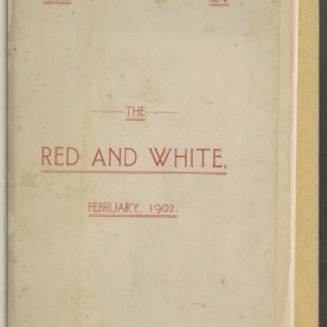 Red and White, Vol. 3 No. 4, February 1902