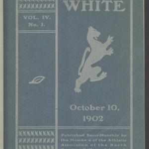 Red and White, Vol. 4 No. 1, October 10, 1902