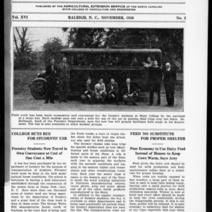 Extension Farm-News Vol. 16 No. 2, November 1930