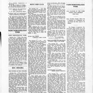 Extension Farm-News Vol. 1 No. 1, February 13, 1915