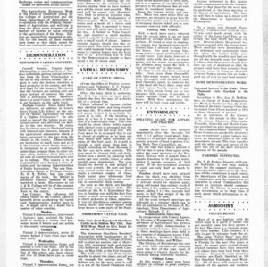 Extension Farm-News Vol. 1 No. 13, May 8, 1915