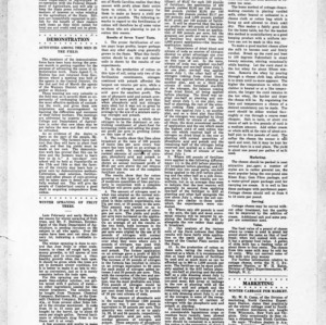 Extension Farm-News Vol. 1 No. 2, Feburary 20, 1915