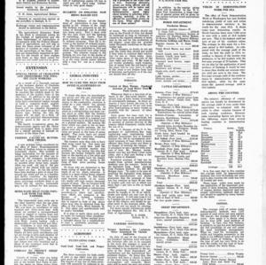 Extension Farm-News Vol. 1 No. 22, July 10, 1915