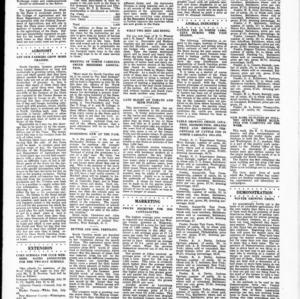 Extension Farm-News Vol. 1 No. 23, July 17, 1915