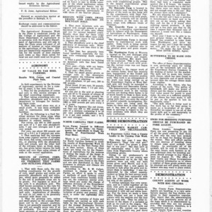 Extension Farm-News Vol. 1 No. 24, July 24, 1915