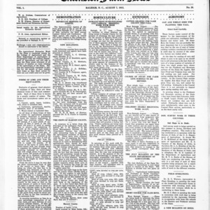 Extension Farm-News Vol. 1 No. 26, August 7, 1915