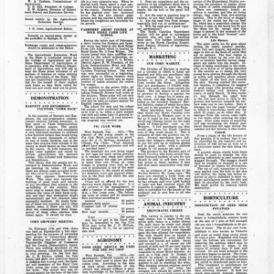 Extension Farm-News Vol. 1 No. 3, February 27. 1915