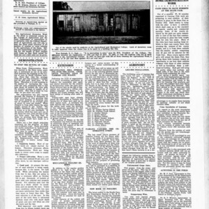 Extension Farm-News Vol. 1 No. 33, September 25, 1915