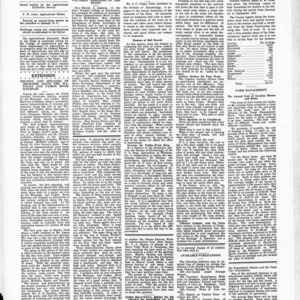 Extension Farm-News Vol. 1 No. 35, October 9, 1915