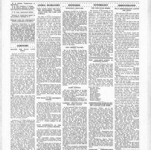 Extension Farm-News Vol. 1 No. 39, November 6, 1915
