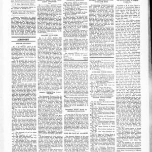 Extension Farm-News Vol. 1 No. 48, January 8, 1916