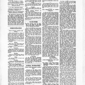 Extension Farm-News Vol. 1 No. 6, March 20, 1915