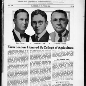Extension Farm-News Vol. 20 No. 9, June 1935
