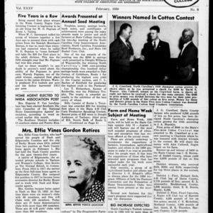 Extension Farm-News Vol. 35 No. 6, February 1950