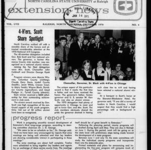 Extension News Vol. 57 No. 4, December 1970