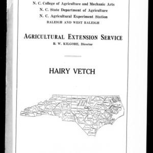 Hairy Vetch (Extension Circular No. 16)