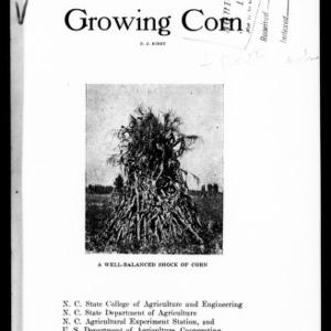 Growing Corn (Extension Circular No. 88)