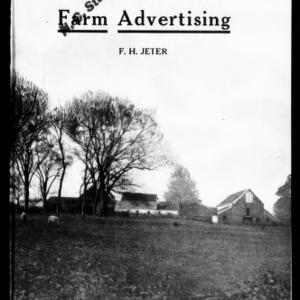 Farm Advertising (Extension Circular No. 90)