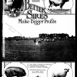 Better Sires Make Bigger Profits (Extension Circular No. 99)