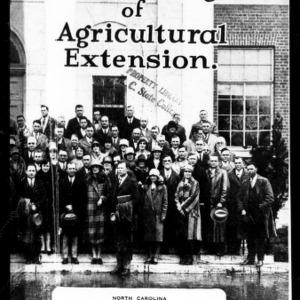 Building a Program of Agricultural Extension (Extension Circular No. 169)