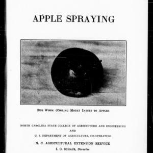 Apple Spraying (Extension Circular No. 183)