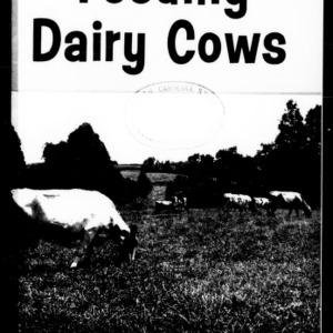 Feeding Dairy Cows (Extension Circular No. 193, Revised)