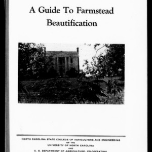A Guide to Farmstead Beautification (Extension Circular No. 253)