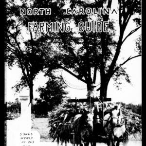 A North Carolina Farming Guide (Extension Circular No. 263, Revised)