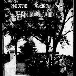 A North Carolina Farming Guide (Extension Circular No. 263)