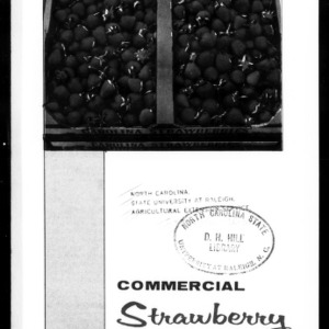 Commercial Strawberry Production, 1975 (Extension Circular No. 422, Reprint)