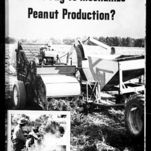 Will It Pay to Mechanize Peanut Production? (Extension Circular No. 430)