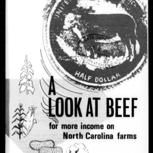 A Look at Beef for More Income on North Carolina Farms (Circular No. 493, Revised)