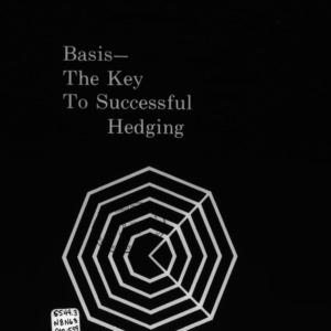 Basis -- The Key to Successful Hedging (Circular No. 559)