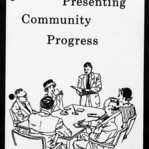 Extension Miscellaneous Publication No. 26: Presenting Community Progress