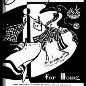 Extension Miscellaneous Pamphlet No. 43: Clothing for Home, Unit 1