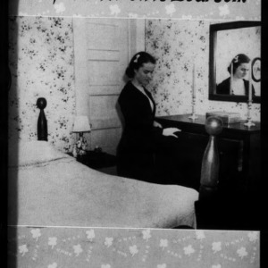 Extension Miscellaneous Pamphlet No. 56: Arrangement of the 4-H Girl's Bedroom