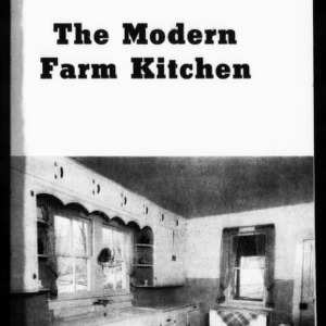 Extension Miscellaneous Pamphlet No. 100: The Modern Farm Kitchen