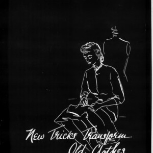 Extension Miscellaneous Pamphlet No. 118: New Tricks Transform Old Clothes