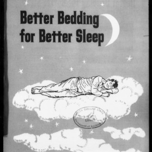 Extension Miscellaneous Pamphlet No. 213: Better Bedding for Better Sleep