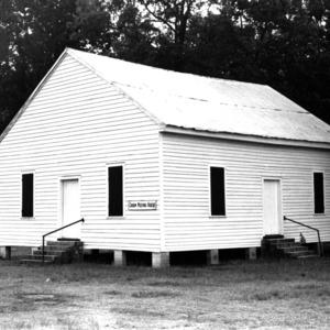 View, Croom Meetinghouse, Sandy Bottom, Lenoir County, North Carolina