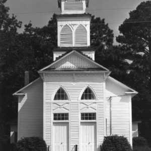 View, Parker's Grove Methodist Church, Linden, Cumberland County, North Carolina