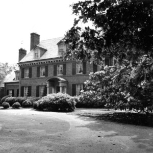 View, DeLeon F. Green House, Weldon, Halifax County, North Carolina