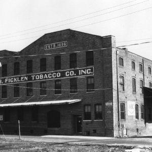 View, E. B. Ficklen Tobacco Co., Greenville, Pitt County, North Carolina