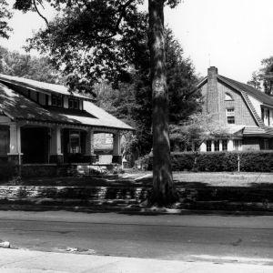 View, Selby Anderson House and Thomas M. Washington House, Wilson, Wilson County, North Carolina