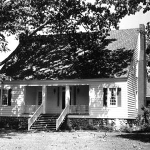 View, Dunn-Canady House, Lenoir County, North Carolina