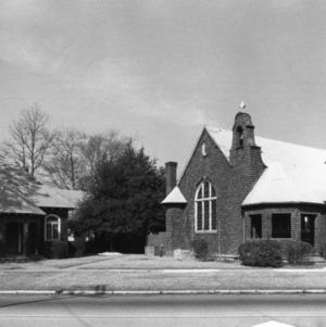 View, St. Joseph's Episcopal Church, Fayetteville, Cumberland County, North Carolina
