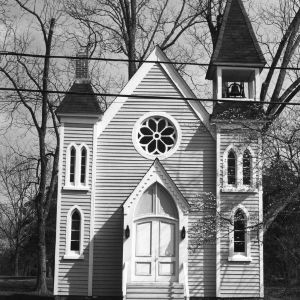 View, Church of the Immaculate Conception, Halifax, Halifax County, North Carolina