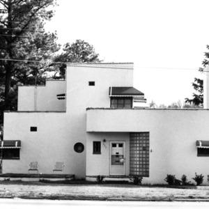 View, Benjamin M. Mills, Jr. House, Weldon, Halifax County, North Carolina