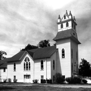 View, Buckhorn Baptist Church, Como, Hertford County, North Carolina